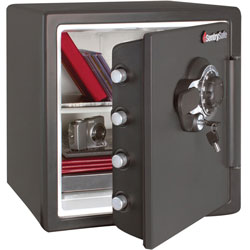 Sentry Safe, Fire and Water, 16-3/10 inWx19-3/10 inDx17-4/5 inH, Gray