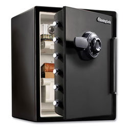 Sentry Fire-Safe with Combination Access, 2 cu ft, 18.6w x 19.3d x 23.8h, Black