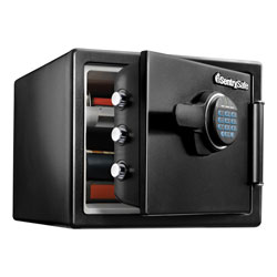 Sentry Fire-Safe with Digital Keypad Access, 2 cu ft, 18.67w x 19.38d x 23.88h, Black