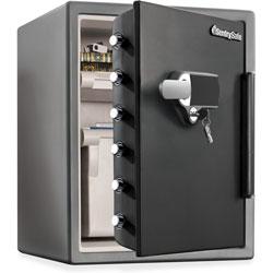 Sentry Fire/Water Safe, w/ Digital Alarm, 18.6 in x 19.3 in x 23.8 in, GMBK