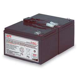 APC UPS Replacement Battery, Cartridge #6 (RBC6)