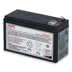 APC UPS Replacement Battery, Cartridge #17 (RBC17)