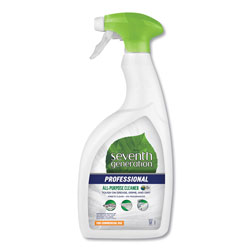 Seventh Generation Professional All-Purpose Cleaner, Free & Clear Unscented, 32 oz Spray Bottle, 8 Bottles per Case
