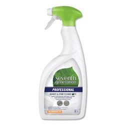 Seventh Generation Professional Granite and Stone Cleaner, Mandarin Orange Scent, 32 oz Bottle, 8 Bottles per Case