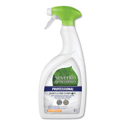 Seventh Generation Professional Granite and Stone Cleaner, Mandarin Orange Scent, 32 oz Bottle