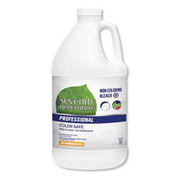 Seventh Generation Professional Non Chlorine Bleach, Free and Clear, 21 Loads, 64 oz Bottle, 6 Bottles per Case