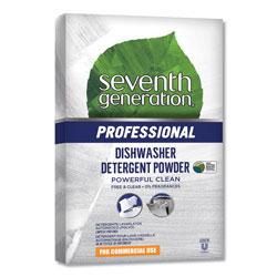 Seventh Generation Professional Automatic Dishwasher Powder, Free & Clear Unscented, Jumbo 75oz Box