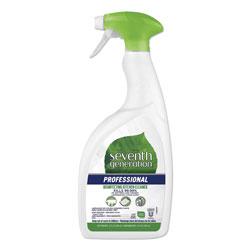 Seventh Generation Professional Disinfecting Kitchen Cleaner, Lemongrass Citrus, 32 oz Spray Bottle, 8 Bottles per Case