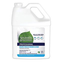 Seventh Generation Professional Disinfecting Bathroom Cleaner, Lemongrass Citrus, 1 gal Bottle