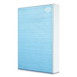 Seagate Backup Plus External Hard Drive, 5 TB, USB 2.0/3.0, Blue