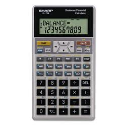 Sharp EL-738C Financial Calculator, 10-Digit LCD