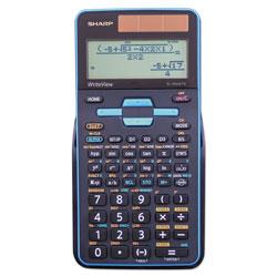 Sharp EL-W535TGBBL Scientific Calculator, 16-Digit LCD