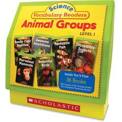 Scholastic Science Vocabulary Readers: Animal Groups, Grades 1-2