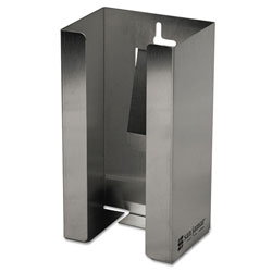 "San Jamar G0801 Stainless Steel Disposable Glove Dispenser for Single Box, 5 1/2"" w x 3 3/4"" d x 10"" h"
