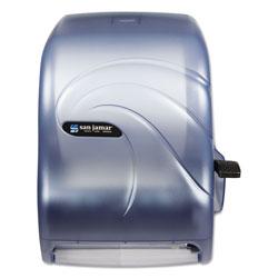 The Colman Group, Inc. Lever Roll Towel Dispenser, Oceans, Arctic Blue, 16 3/4 x 10 x 12