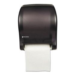 San Jamar Tear-N-Dry Essence Automatic Dispenser, Classic, Black, 11 3/4 x 9 1/8 x 14 7/16