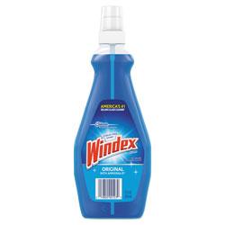 Windex RTU Ammonia-D Glass Cleaner, Neutral, 12oz, Pump Bottle, 12/Carton