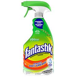 Fantastik Disinfectant Multi-Purpose Cleaner Fresh Scent, 32 oz Spray Bottle, 8/Carton