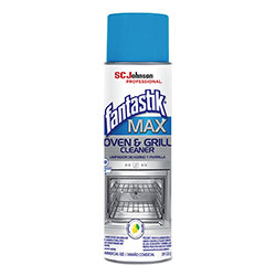 Fantastik® MAX Oven and Grill Cleaner, 20 oz Aerosol Can, 6/Carton