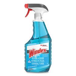 Windex Ammonia-D Glass Cleaner, Fresh, 32 oz Spray Bottle, 8/Carton