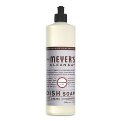Mrs. Meyer's® Dish Soap, Lavender Scent, 16 oz Bottle, 6/Carton