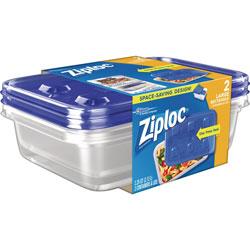 Ziploc® Container, Large, 2/PK