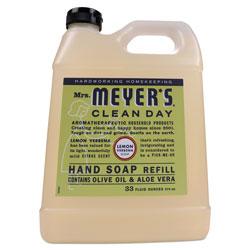 Mrs. Meyer's® Clean Day Liquid Hand Soap, Lemon, 33 oz, 6/Carton