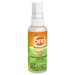 OFF! Botanicals Insect Repellent, 4 oz Bottle, 8/Carton