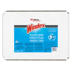 Windex Glass Cleaner with Ammonia-D®, 5gal Bag-in-Box Dispenser