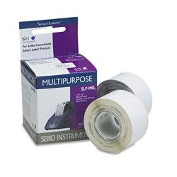Seiko Self-Adhesive Multipurpose Labels, 1.12 in x 2 in, White, 440/Box
