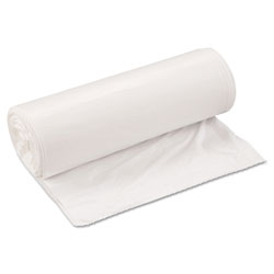 "Inteplast White Trash Bags, 33 Gallon, Extra Heavy, 33"" X 39"", 6 Packs of 25"
