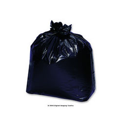 "Inteplast Low Density Black Trash Bags, 33 Gallon, Extra Heavy, 33"" X 39"", 6 Packs of 25"