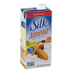 Silk® Almond Milk, Original, 32 oz Aseptic Box