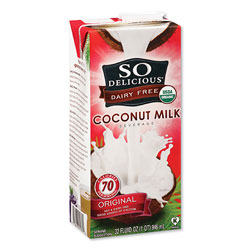 SO Delicious® Coconut Milk, Original, 32 oz Aseptic Box