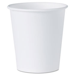 Solo White Paper Water Cups, 3oz, 100/Pack
