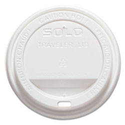 Solo TLP316 Traveler Drink-Thru Lids for 12 and 16 Ounce Meridian Hot Drink Cups