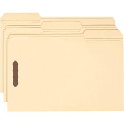 Smead Fastener Folder, Lgl, 1/3Cut, 3/4 in Exp, 18pt, 50/BX, MLA
