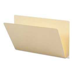 Smead Extended End Tab Manila Folders, Straight Tab, Legal Size, 100/Box