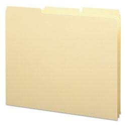 Smead Recycled Blank Top Tab File Guides, 1/3-Cut Top Tab, Blank, 8.5 x 11, Manila, 100/Box