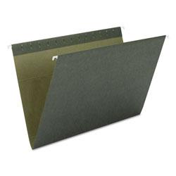 Smead Hanging Folders, Letter Size, Standard Green, 25/Box