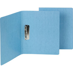 Smead Punchless Binder, 1/2 in Capacity, Blue
