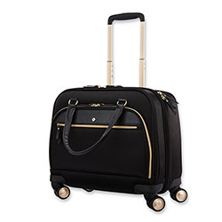 Samsonite Mobile Solution Mobile Office Case, Fits Laptops up to 15.6 in, 16.5 x 7 x 15.5, Black