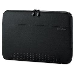 Samsonite 15.6 in Aramon Laptop Sleeve, Neoprene, 15-3/4 x 1 x 10-1/2, Black