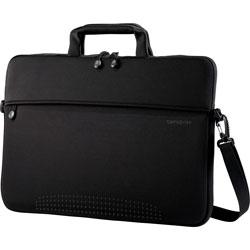 Samsonite Laptop Shuttles, 14-1/2 in x 1 in x 10-1/2 in, Black