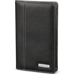 Samsonite Business Card Holder, 72-Card, 1/2 inWx5 inLx8 inH, Black