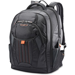 Samsonite Tectonic Backpack, 8-1/2 in x 13-1/2 in, Black