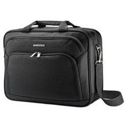 Samsonite Xenon 3 Toploader Briefcase, 16.5 in x 4.75 in x 12.75 in, Polyester, Black