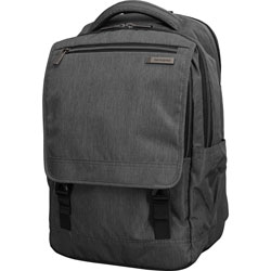 Samsonite Backpack, fits 15.6 in Laptop, 8 inWx12 inLx17-3/4 inH, Charcoal