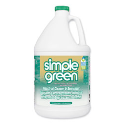 Simple Green Industrial Cleaner and Degreaser, Concentrated, 1 gal Bottle