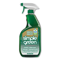 Simple Green Industrial Cleaner and Degreaser, Concentrated, 24 oz Bottle, 12/Carton